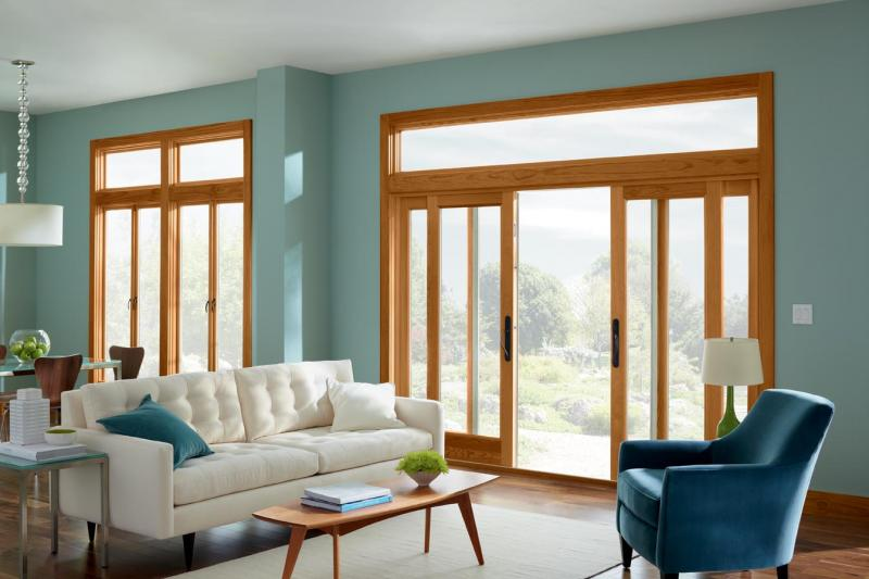 Marvin Windows and Doors Ultimate French Cranking Casement Window