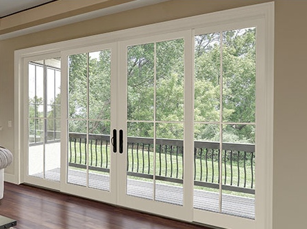 Pioneer Millwork - Integrity 4 Panel Sliding French Door