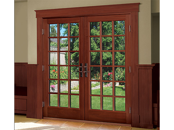wood french patio doors home design ideas and inspiration