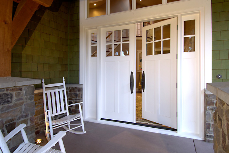 Pioneer millwork simpson door company for Door companies