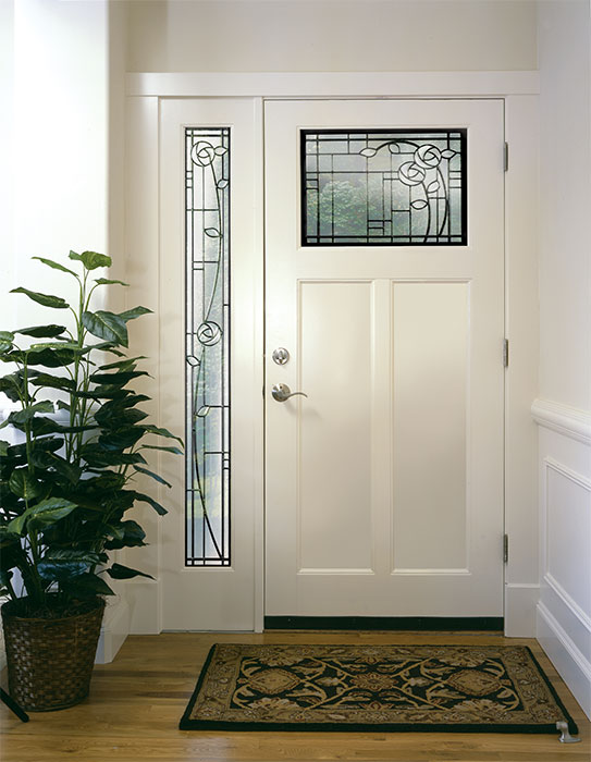 Simpson Door Company   Four Square Entry Door With Sidelights