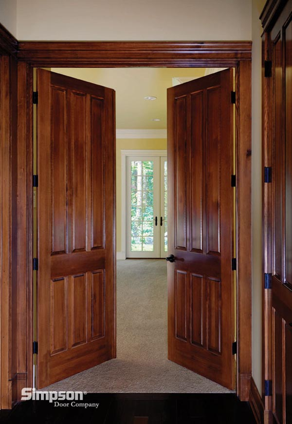 Simpson door company pioneer millwork for Door companies