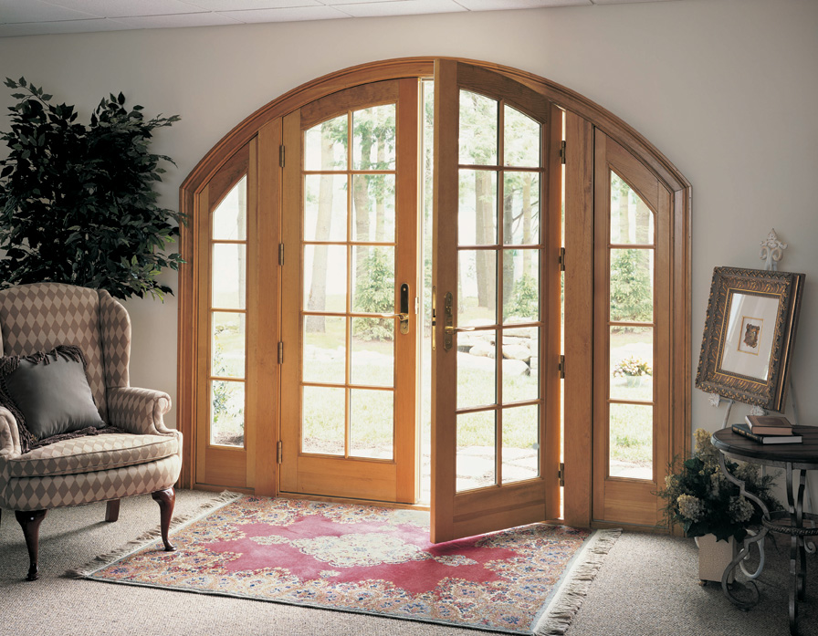 Marvin Windows And Doors   Archtop French Patio Door