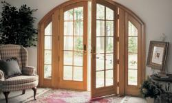 Marvin Windows and Doors - Archtop French Patio Door